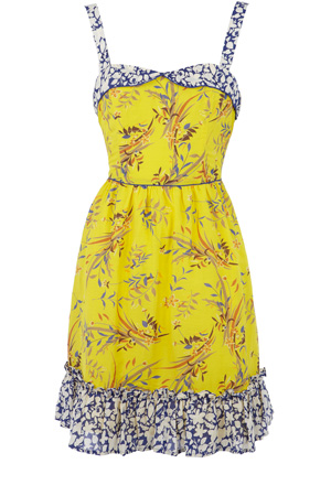 Oasis Floral Patched Sundress