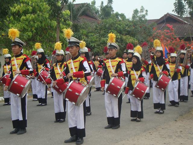 Pelantikan Drum Band 2011 Oleh PDBI OKI Sumatera Selatan - SMAN 3 Unggulan Kayuagung