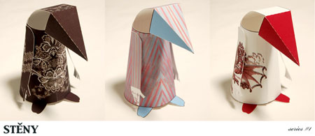 Steny Paper Toy Series 1