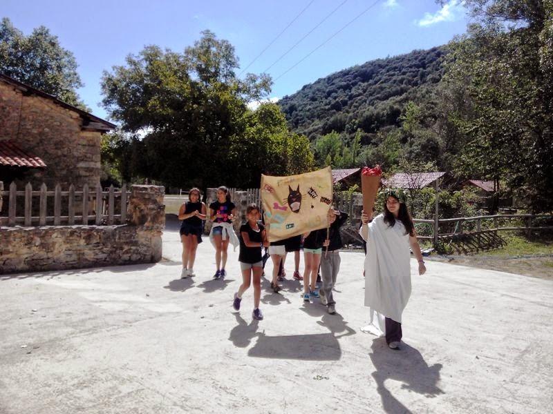 Diario del Campamento de Verano Molino de Butrera