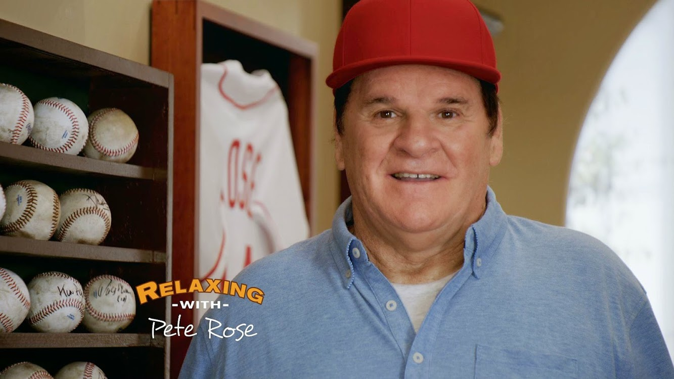 "SKECHERS Helps Pete Rose Walk ""The Hall"" During the Super Bowl"