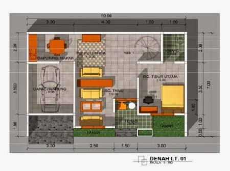 cara membuat desain rumah minimalis gallery taman minimalis