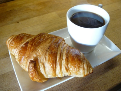 Coffee and Croissant French Village Diaries Silent Sunday