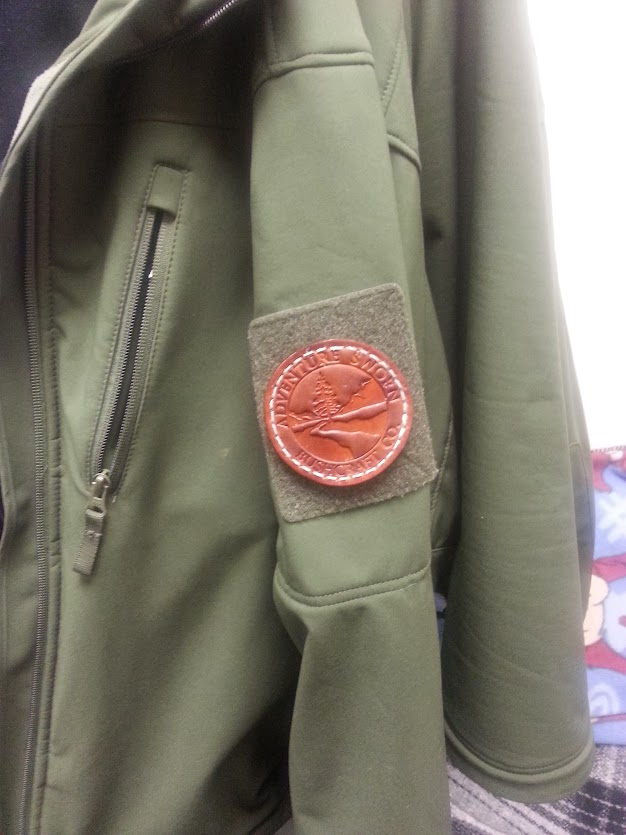 Condor Velcro and AdventureSworn patch.