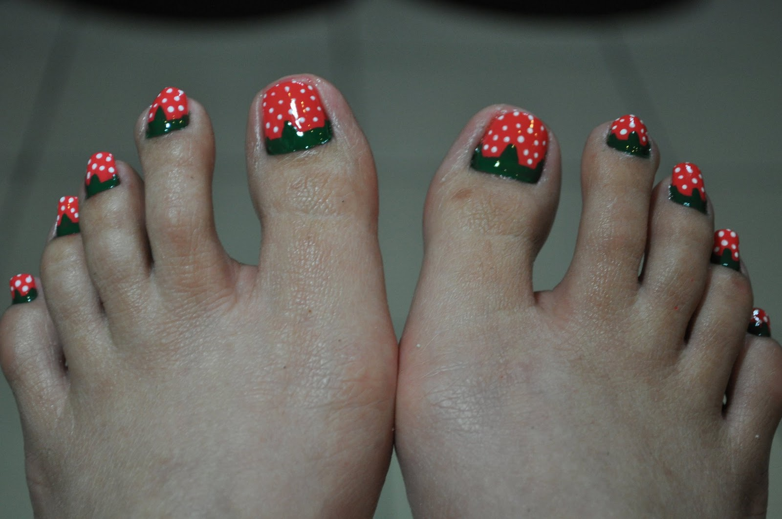 Nail Polish Designs Feet Hession Hairdressing