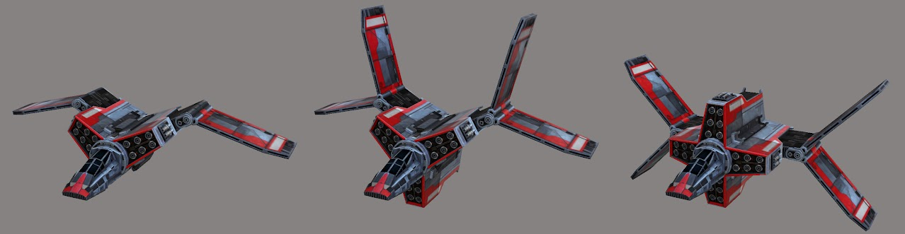 Imperial Gunship pattern 2