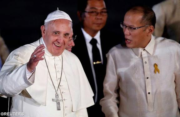 Video: Lễ nghi đón tiếp Đức Thánh Cha tại Manila
