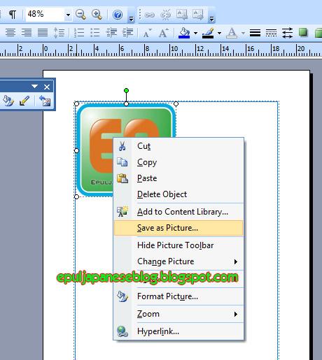 Cara Merubah Gambar di Microsoft Word Menjadi JPEG aep