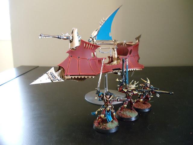 Eldar Corsairs- Lions of Asuryan  DSC00516