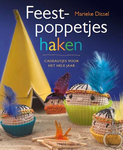 Mijn tweede haakboek 'Feestpoppetjes haken'