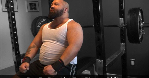 Powerlifter: How To Breathe For Bigger Lifts