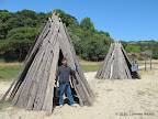Miwok settlements at Indian Beach