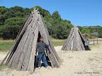 Miwok settlements at Indian Beach