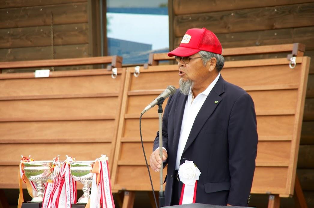 空知地区パークゴルフ協会連合会・香川 烈 会長
