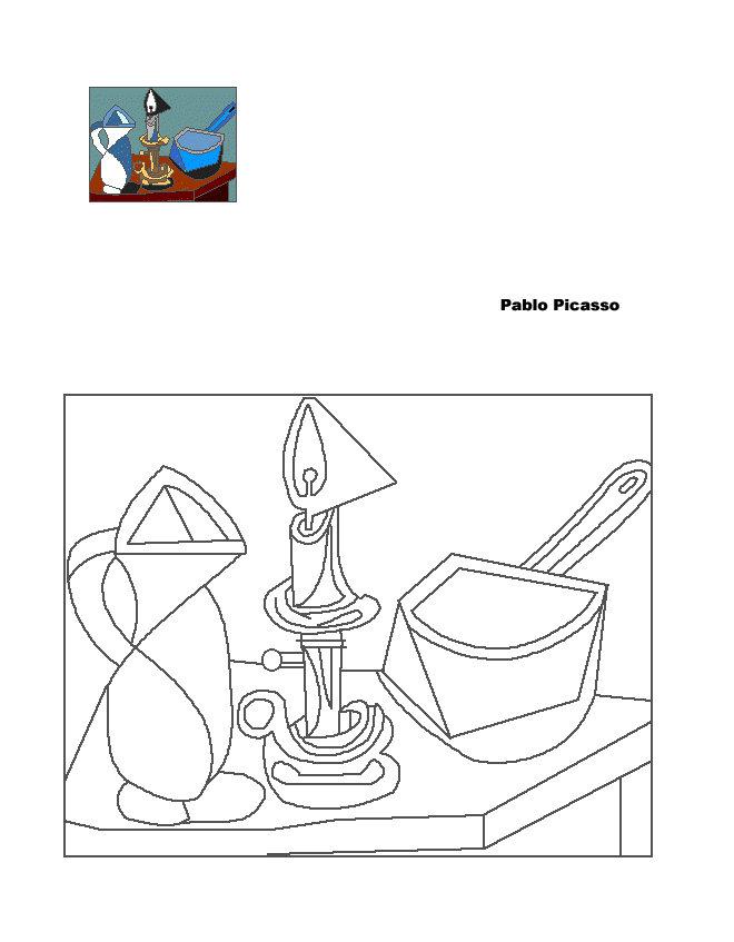 Maestra de primaria cuadros famosos de pintores para ni os - Cuadros abstractos para ninos ...