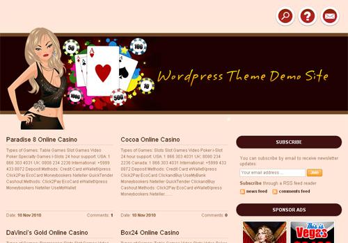 Online Casino Template 958