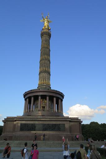 Die Siegessäule bietet den wohl besten Blick über Berlin