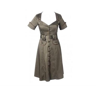 40s funky vintage jurk van Living Souls