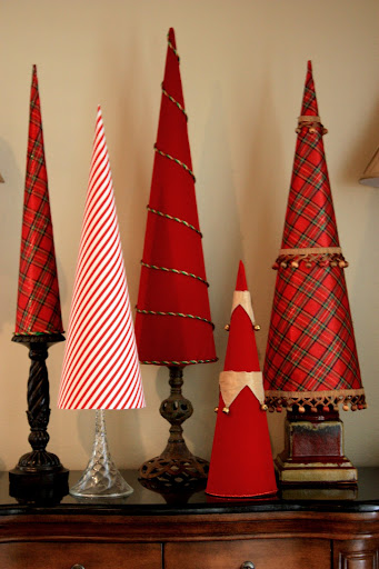 Diy Cone Christmas Trees.Diy Christmas Tree Cones
