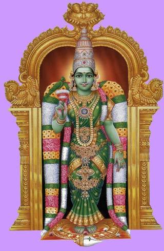 Goddess Meenakshi Image