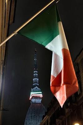 Torino notte tricolore