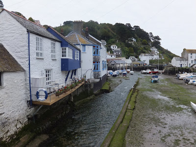 Picturesque Cornish village of Polperro