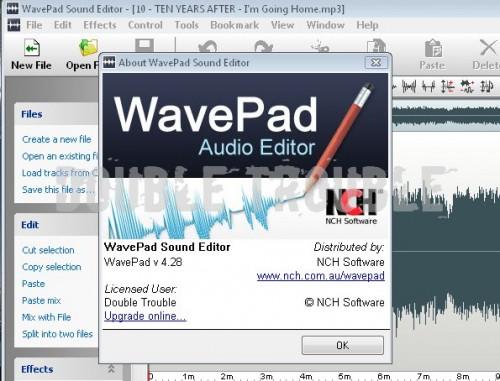 Wav Pad Sound Editor