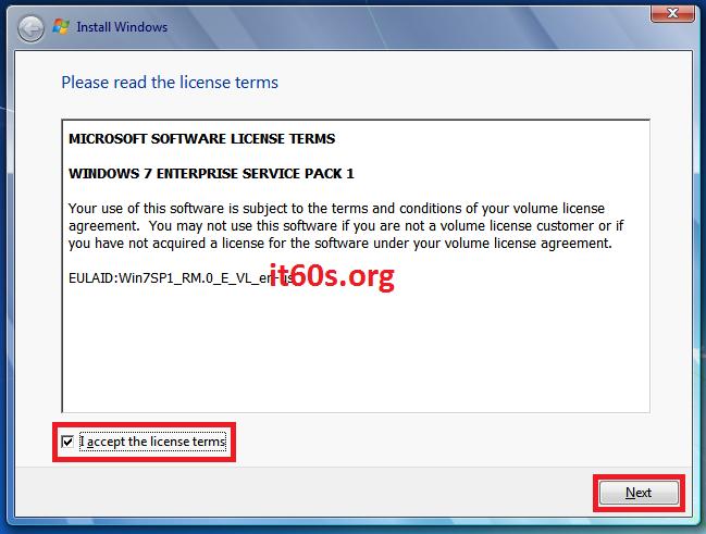 Thủ thuật khắc phục lỗi 0x80070057 khi cài Windows 7 5
