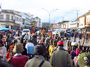 The main market in Antsirabe, Tsena Sabotsy, is VERY crowded! So this is a typical street scene there.