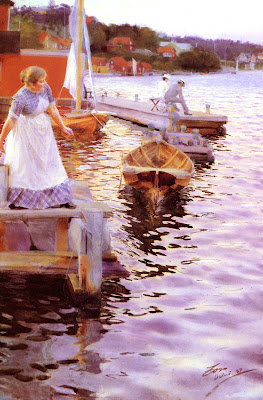 Anders Zorn - Lappings of the waves