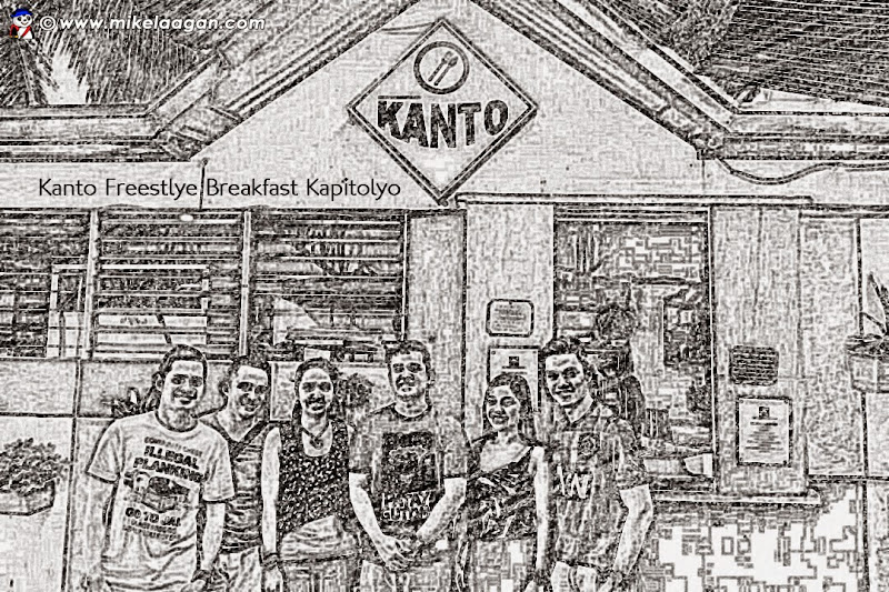 The Traveling Panda with Friends at Kanto Freestyle Breakfast
