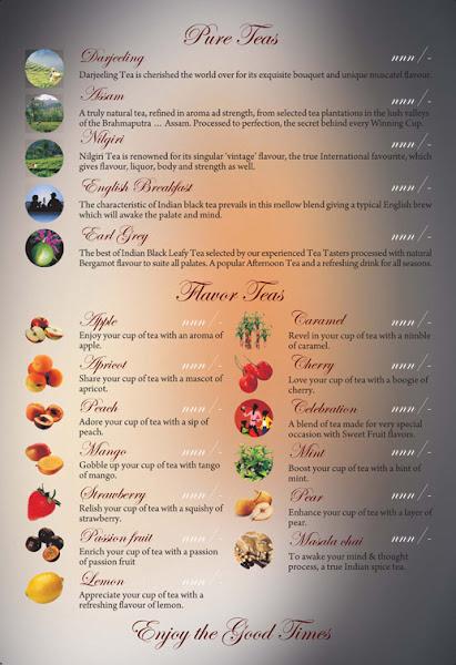 menu card print design