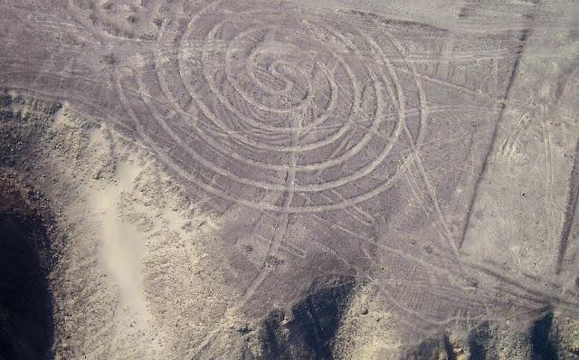 Las líneas de Nazca - Espirales - HistoriadelasCivilizaciones.com