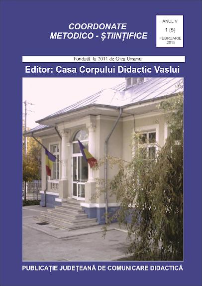 ed5 (ELECTRONIC - altceva) coordonate metodico stiintifice_Casa Corpului Didactic_Vaslui_vaslui_VASLUI
