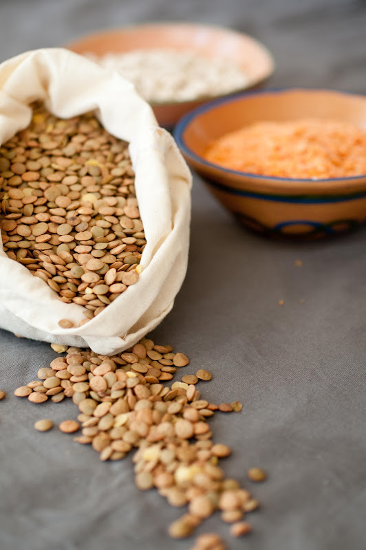 lentils, a popular ethiopian ingredient