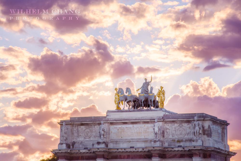 到巴黎攝影 卡魯索凱旋門 Arc de Triomphe du Carrousel