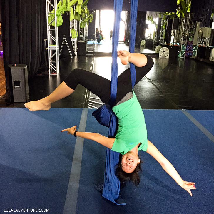 Aerial Silk Classes Las Vegas at Shine Alternative Fitness with Classpass.