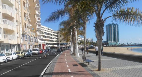 Promende in Arrecife, Lanzarote