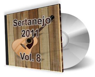 CD Sertanejo 2011 - Volume 8 (Lançamentos Top) 2011