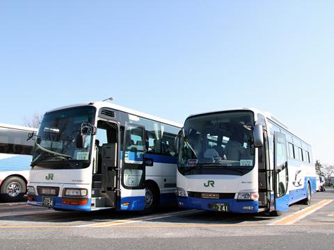 JRバス東北「仙台・新宿3号」 1154 羽生PAにて