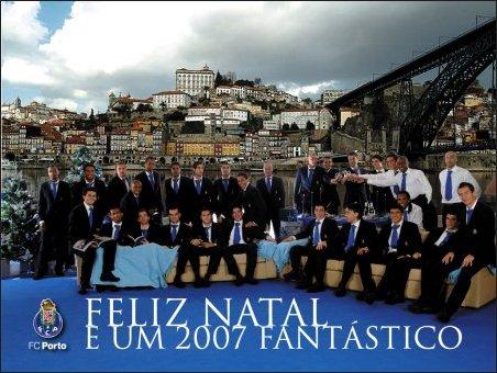 Feliz Natal e um 2007 fantástico a todos os Portistas!