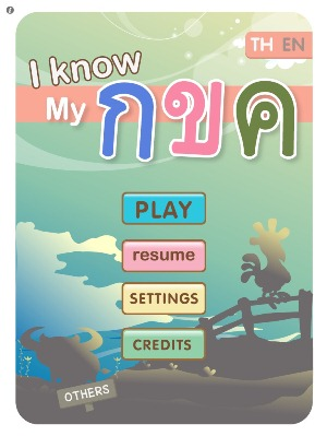 Ipad App Know Thai Alphabet