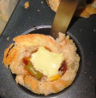 Bread Pizza Cups Recipe   Easy Snacks   Fun things to do with bread