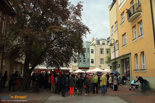spacer iBedeker po Sopocie  - ulica Haffnera
