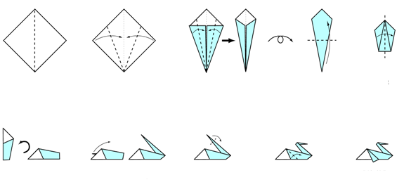 Paper Crafts Origami For Kids Origami Instructions Bird Pelican