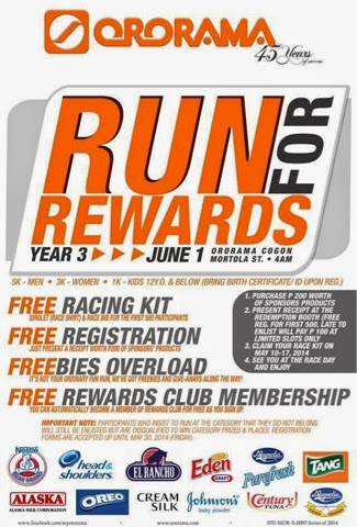 Run for Rewards 2014