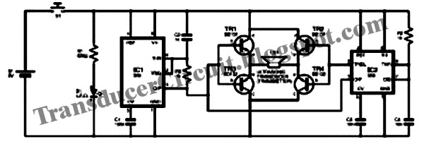 Electronic Pest Repellent Circuit Electronic Dog Repellent Circuit
