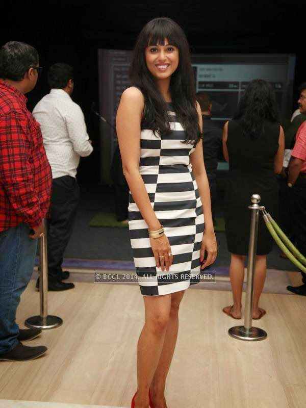 Vibhinta at the RNGM golf event that was held at the Mysore Hall at the ITC Gardenia, Bangalore.