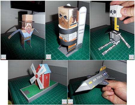 Esquire Hardest Puzzle Ever Paper Toys