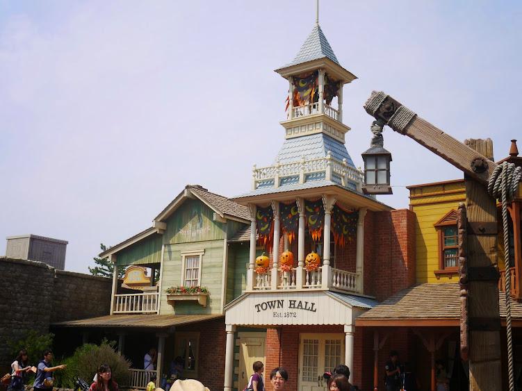 disneyland town hall